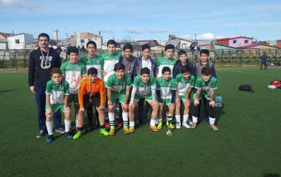 Campeones de fútbol comunal Sub 14
