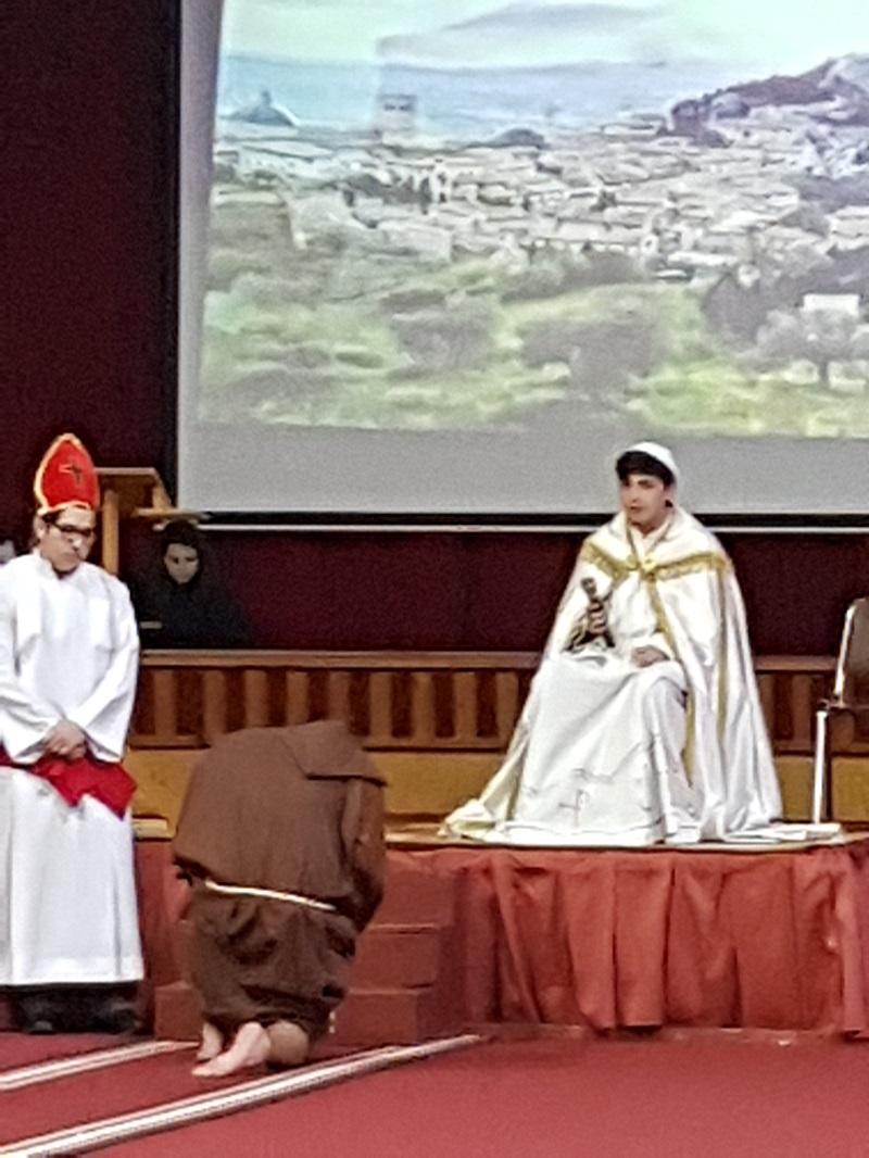 Celebración del Tránsito de S. Francisco