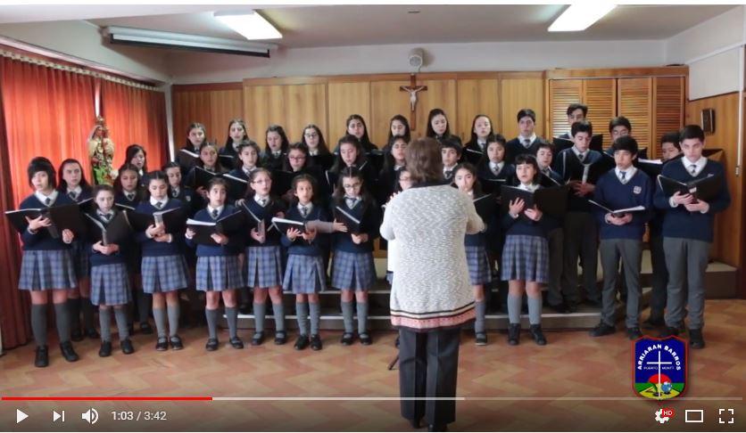 Publican video del Coro CAB