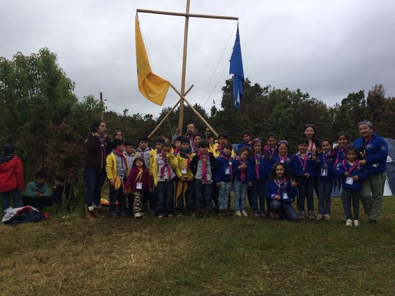 Campamento Scout en Calbuco
