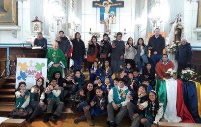 Infancia Misionera del Colegio participa de Misa en la Catedral