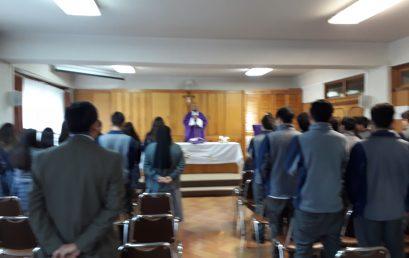 Eucaristía del 4° Medio A