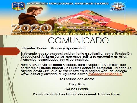 FONDO SOLIDARIO COVID-19