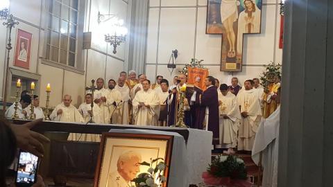 A 30 años de la venida del Papa