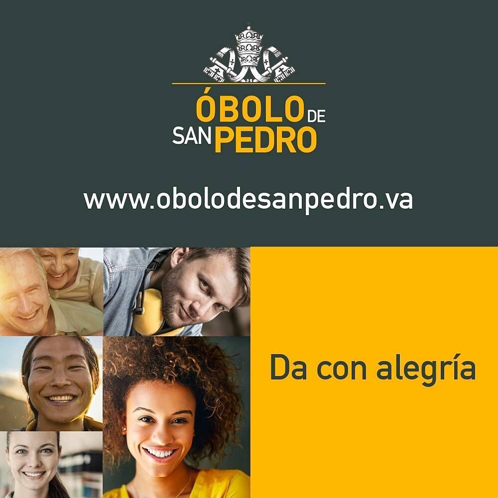 Informe colecta Óbolo de San Pedro