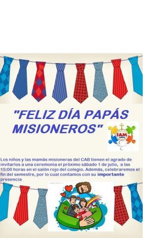 Invitación a papás misioneros