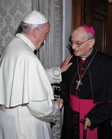 Falleció Monseñor Bernardo Cazzaro