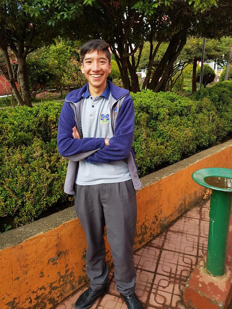 Alumno gana Beca Deportiva