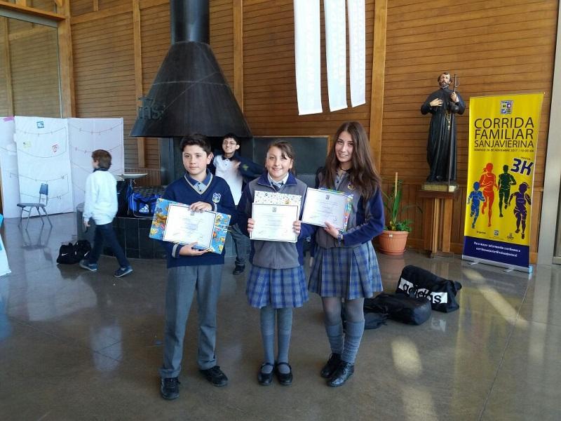 Alumnos del colegio se destacan  en Encuentro de Pintura