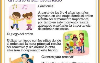 ¿Cómo enseñar a un niño a ordenar sus cosas?