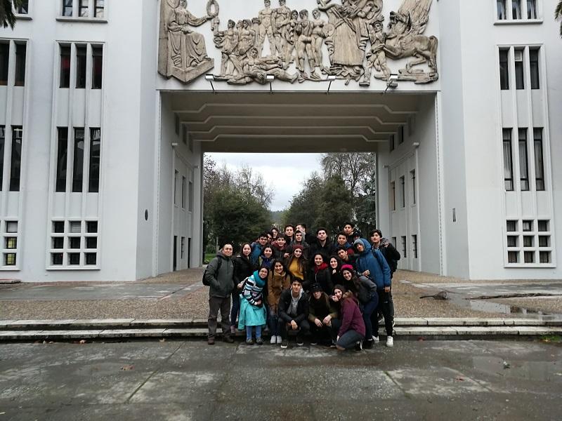 Electivo Matemático viaja a U. de Concepción