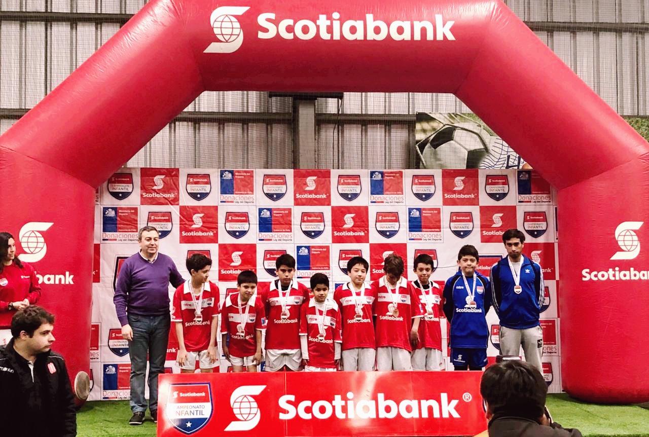 4° Lugar en fútbol Infantil
