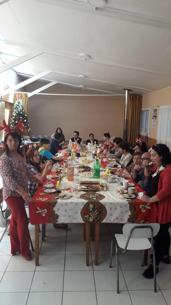 Visita al Club de Ancianos de la Parroquia Cristo Rey
