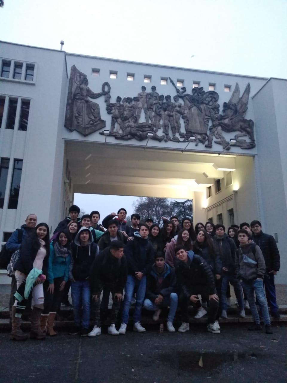 Viaje del Electivo Matemático a la Comunidad InGenio nodo Bio Bio, en la Universidad de Concepción