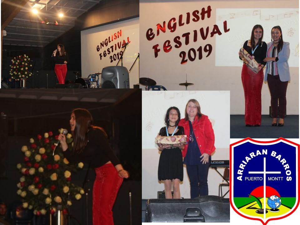 ALUMNAS DESTACAN EN ENGLISH FESTIVAL