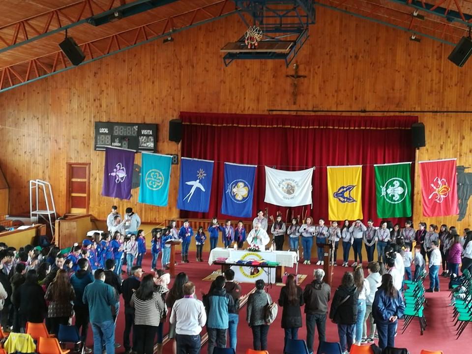 40 AÑOS DE LOS SCOUTS EN EL COLEGIO ARRIARAN BARROS