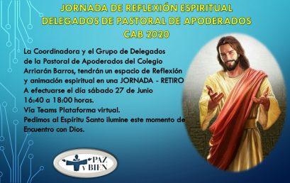 JORNADA DE REFLEXION ESPIRITUAL