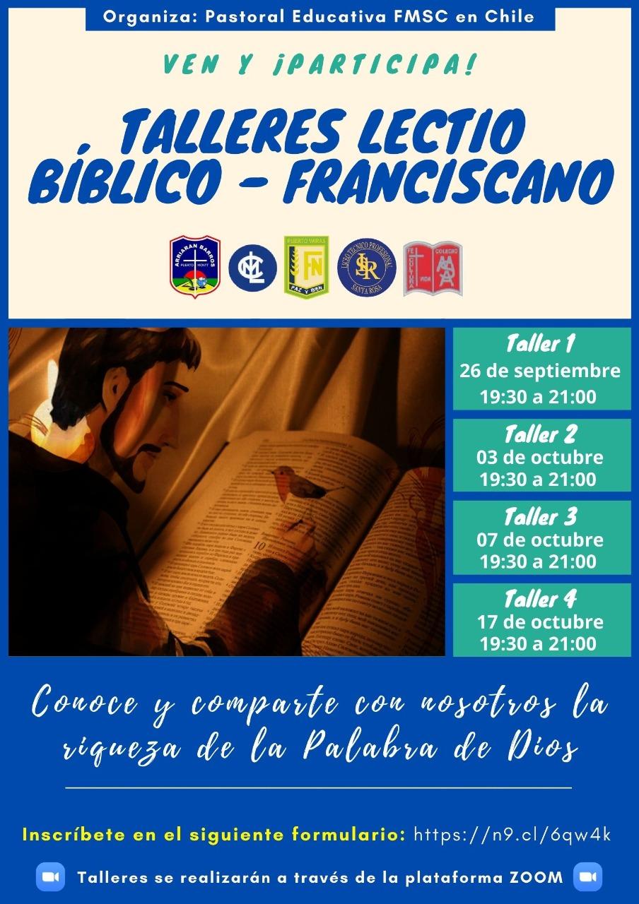 INVITACION DE LA PASTORAL EDUCATIVA FMSC
