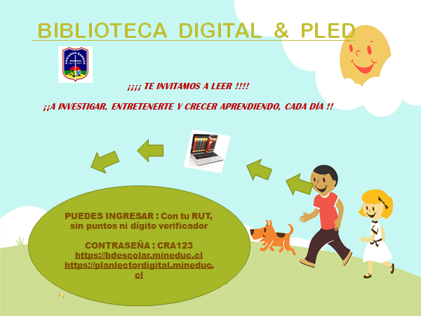 Biblioteca Digital y Plan Lector Digital
