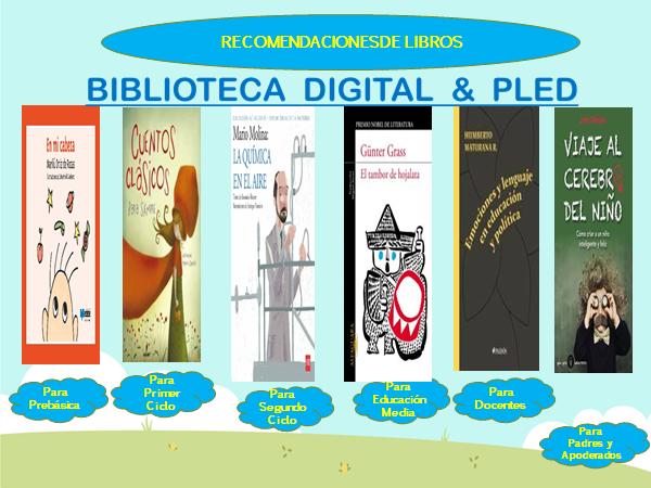 RECOMENDACIONES DE LIBROS BIBLIOTECA DIGITAL CAB