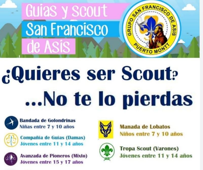 Scouts: Inscripciones abiertas