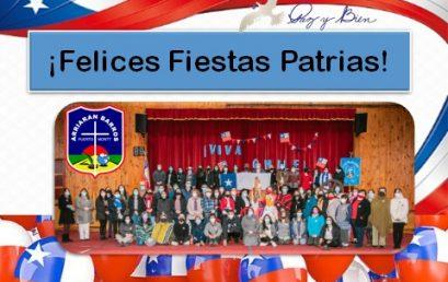 SALUDO FIESTAS PATRIAS 2021