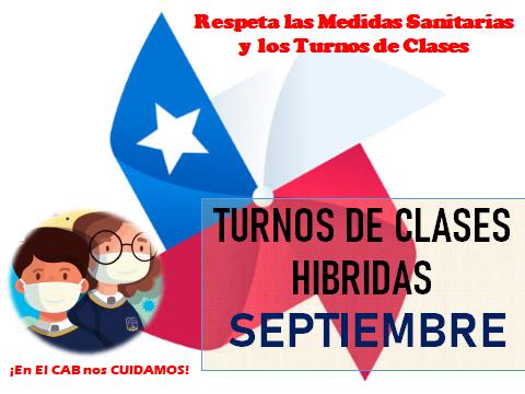 TURNOS CLASES HIBRIDAS