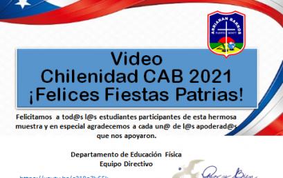 VIDEO CHILENIDAD CAB